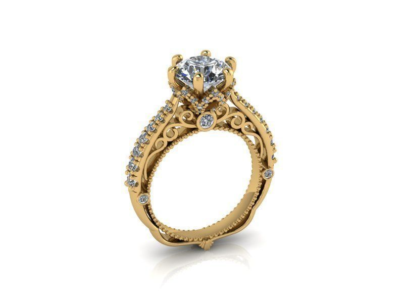 Женское кольцо 1026