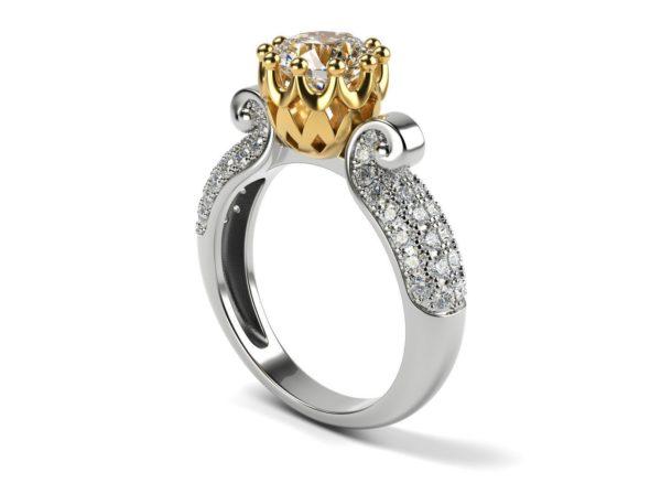 женское кольцо 1031
