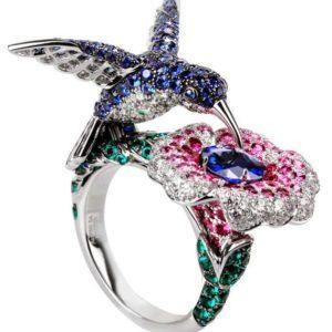 женское  кольцо  1074