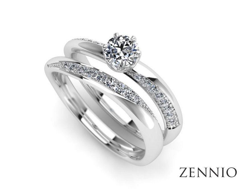 Женское кольцо 004