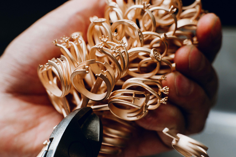 Процесс создания ювелирного украшения