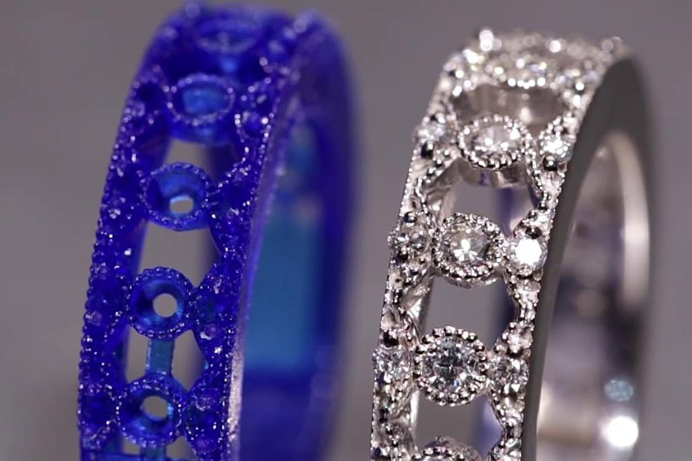 Ювелирные восковки: создание 3D модели