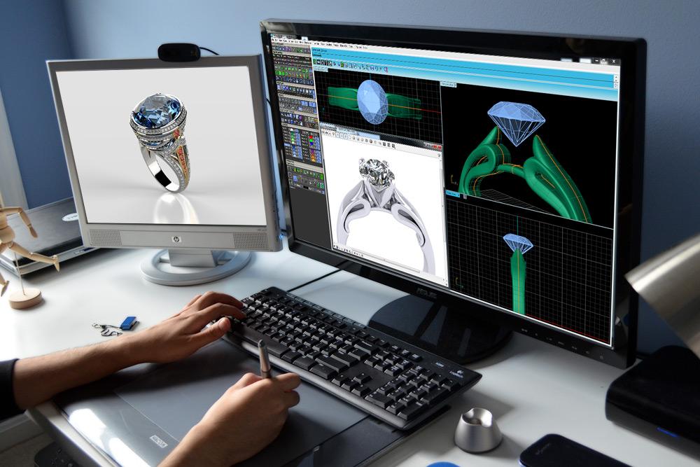 3D ювелирный дизайн