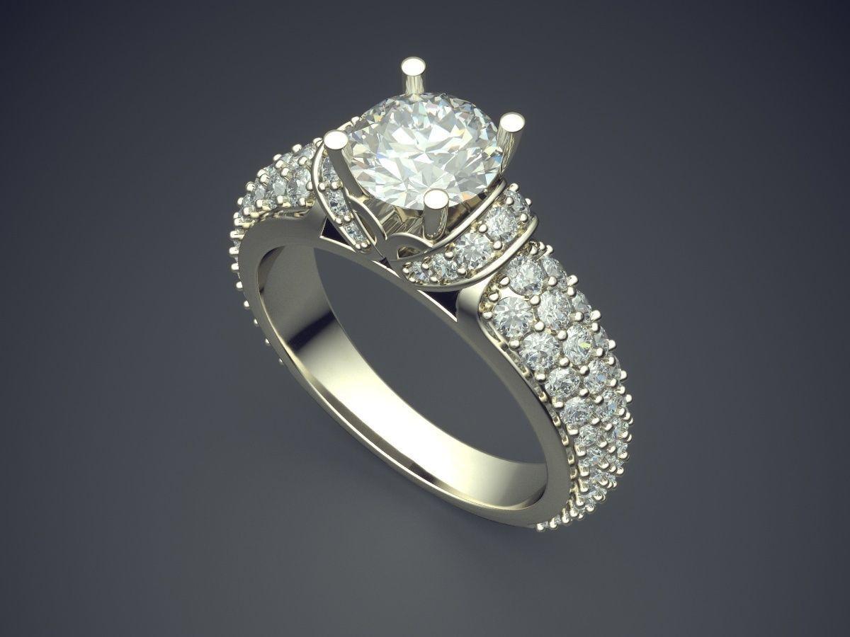 женские  кольца  1176