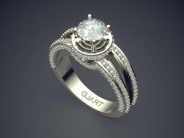 Женское кольцо 1203