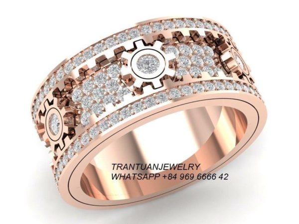 Мужское кольцо 1215