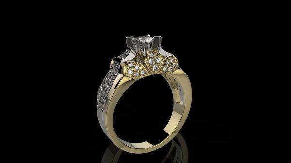Женское кольцо 1221