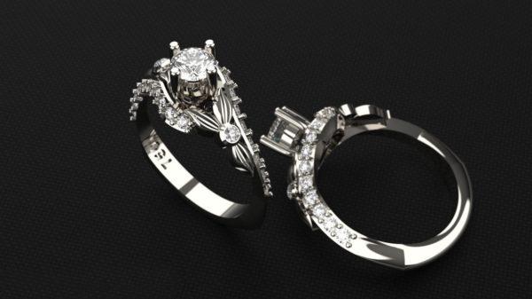 Женское кольцо 1212