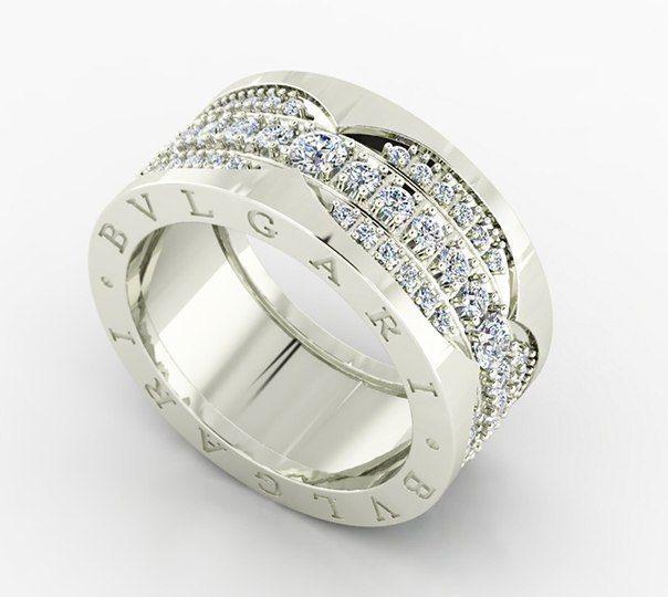 женское кольцо 1019
