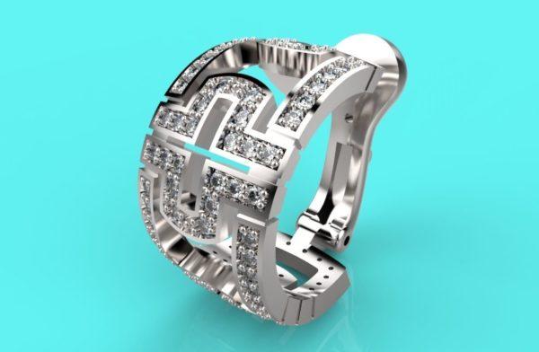 женское кольцо 1168