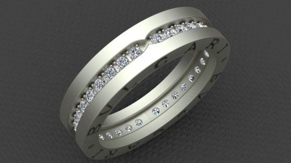Женское кольцо 1126