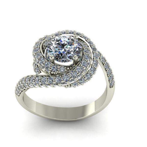 Женское кольцо 1071