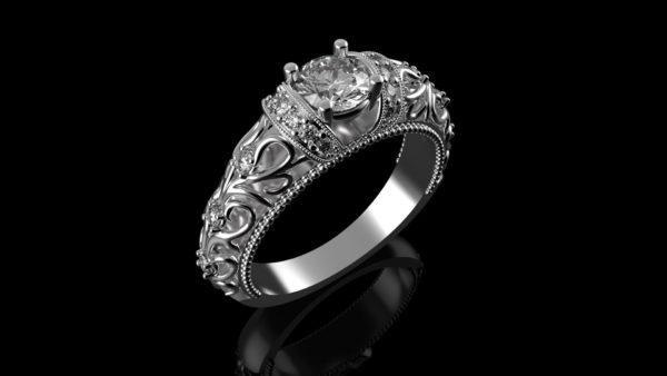 Женское кольцо 1110