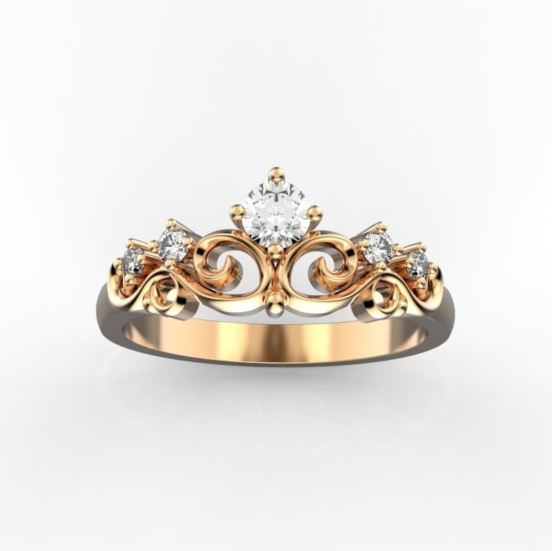 Женское кольцо 1057