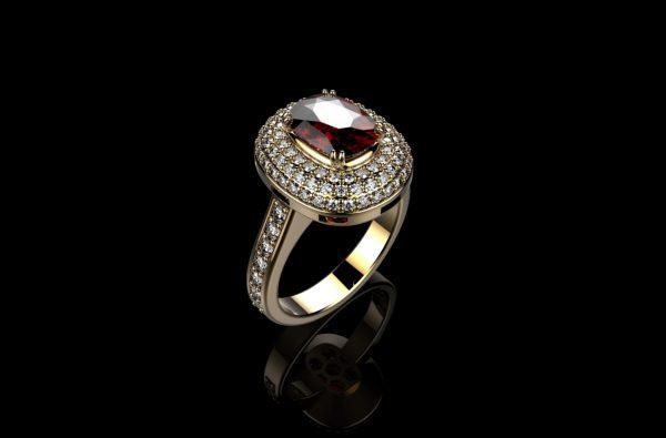 Женское кольцо 1207