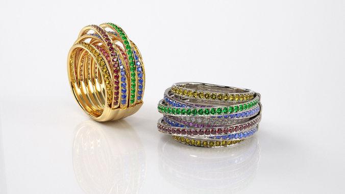 Женское кольцо 1017