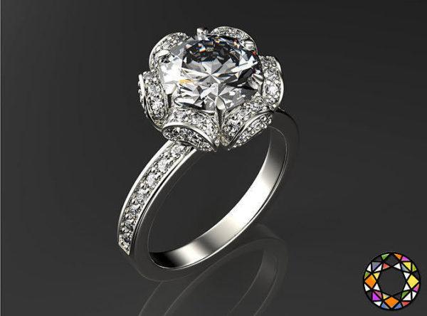 женское кольцо  1146