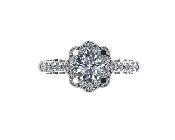 женское кольцо 1157