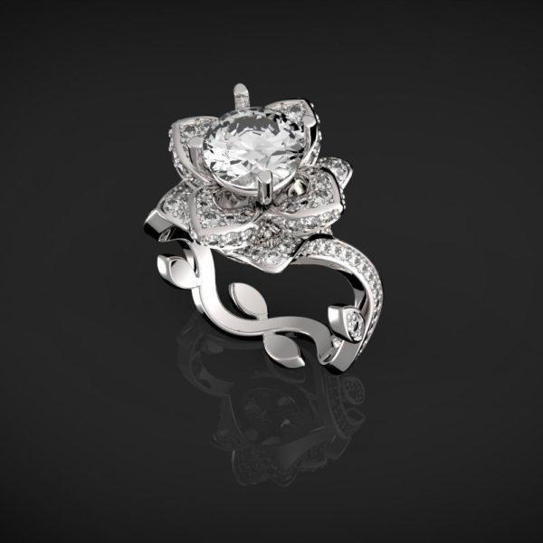 женское кольцо 1022