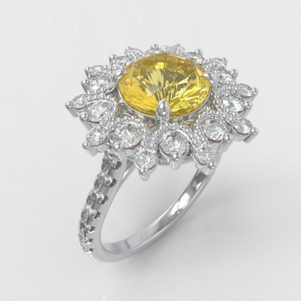 Женское кольцо 1062