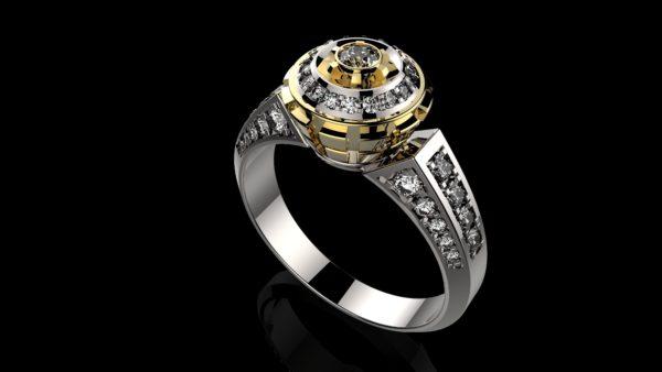 Женское кольцо 1202