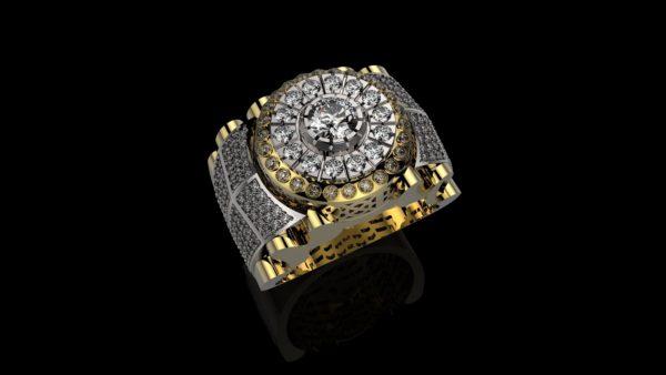 Мужское кольцо 1143