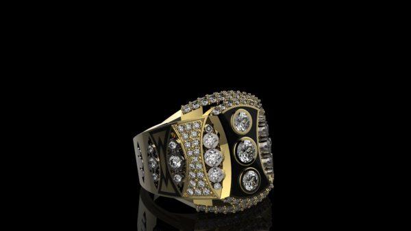 Мужское кольцо 1108
