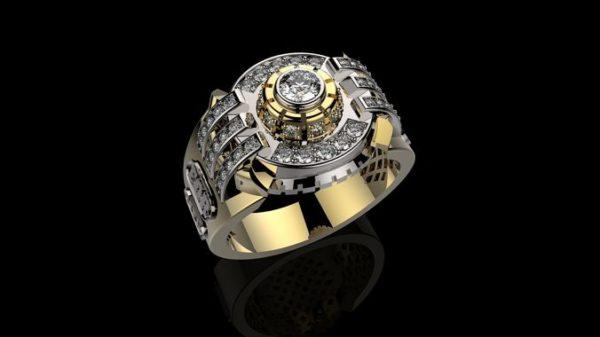 мужские кольца  1192