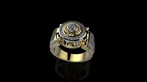 Мужское кольцо 1144