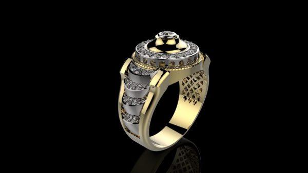мужские кольца 1222