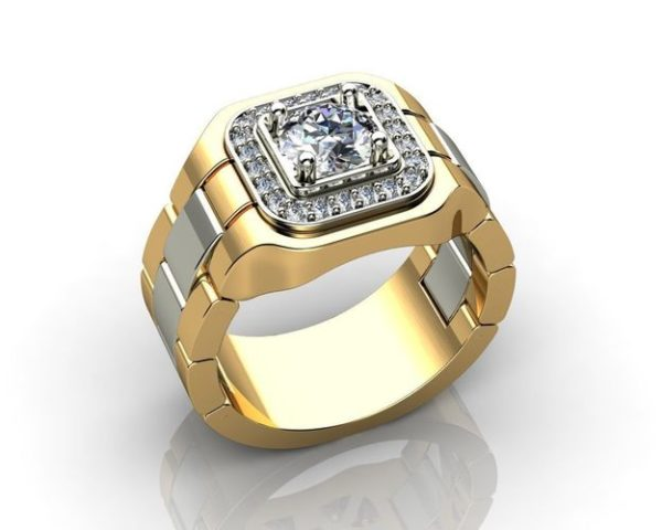 мужское  кольцо 1115