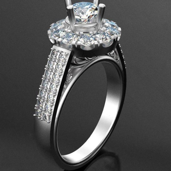 Женское кольцо 007