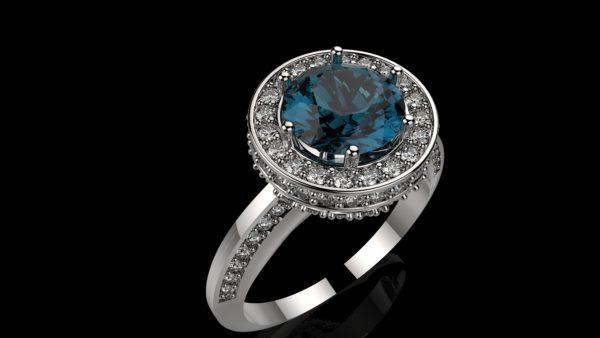 Женское кольцо 1194