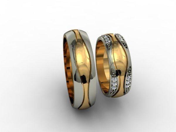 Обручальные кольца 1217