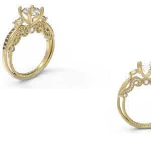 женские  кольца  1179