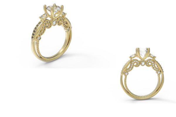 Женское кольцо 1179