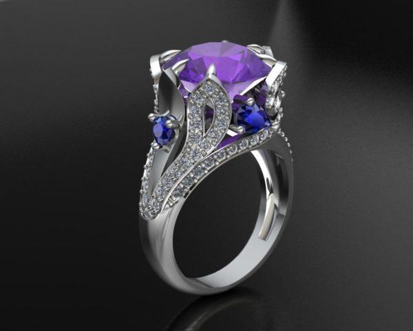 Женское кольцо 1175