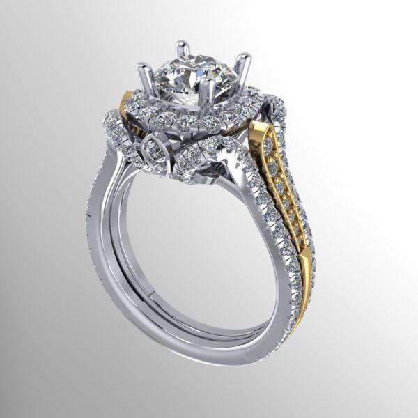 женские кольца 1174
