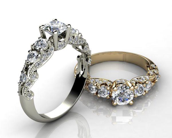 женское кольцо 1141