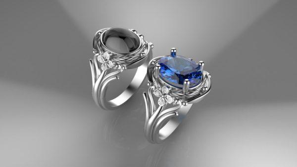 Женское кольцо 1061