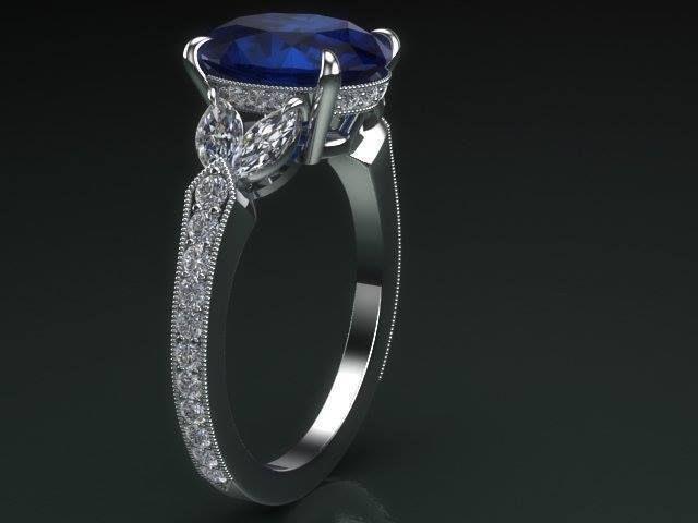 Женское кольцо 1063
