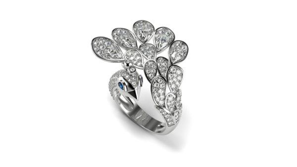 женское кольцо 1135