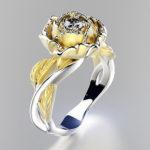 женское кольцо 1015