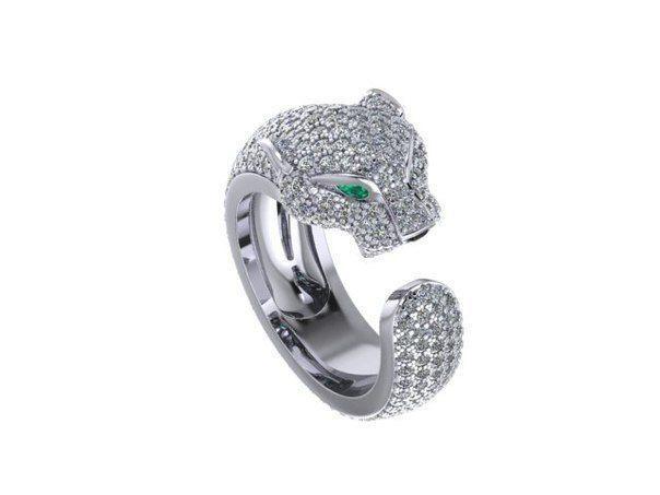 Женское кольцо 1021