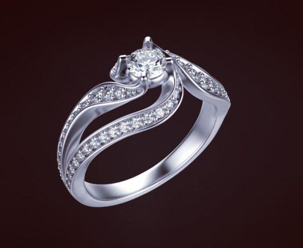 Женское кольцо 1188