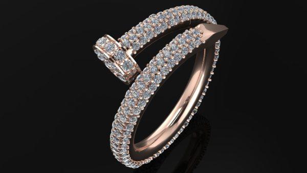 Женское кольцо 1018