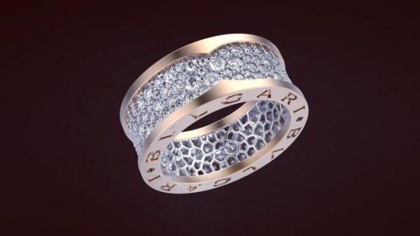 женское кольцо  1125