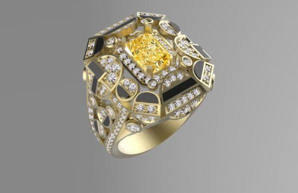 Мужское кольцо 1134