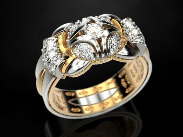 Женское кольцо 1152