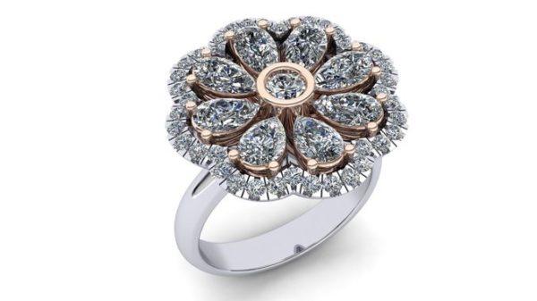 женские кольца  1183